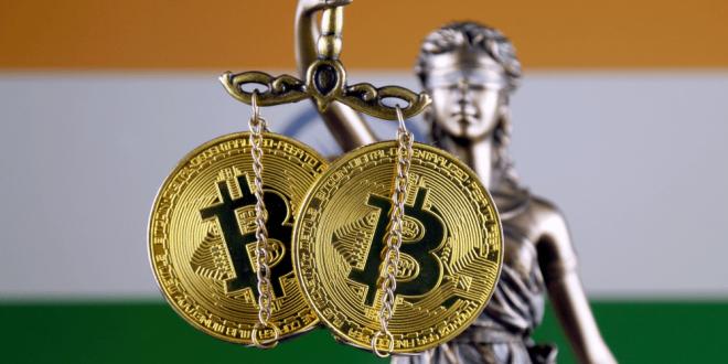 Balanza del Bitcoin , India