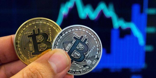 Bitcoin cae en sesión volátil