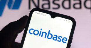 Acciones de Coinbase suben 11%